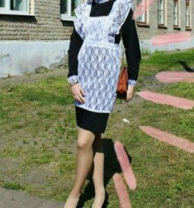 Школьная форма вместе с платьем