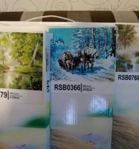 Картины расскраски по номерам