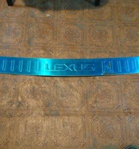Накладка на Lexus RX