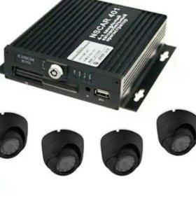 Комплект видеонаблюдения на 5 камер nscar401hd