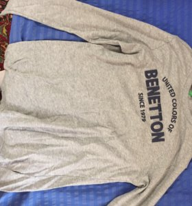Кофта свитшот Benetton