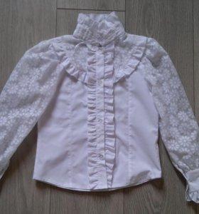 Школьная блуза блузка 1й класс