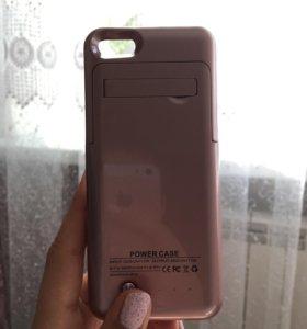Чехол-зарядка для iphone SE, 5S и 5C