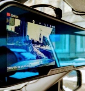 Видеорегистратор зеркало + парктроник
