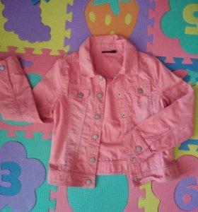 Куртка джинсовая kiabi 128р-р