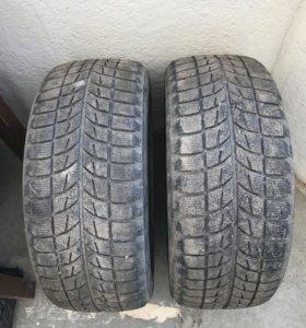 Зимние шины Bridgestone blizzak и Michelin x-ice