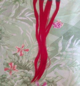 прядки волос