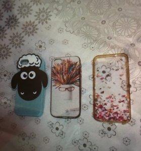 3 чехла на iPhone 5/5S