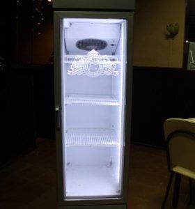 Витриный холодильник б/у