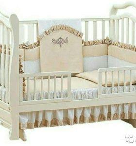 Кроватка детская с маятником Giovanni Magico