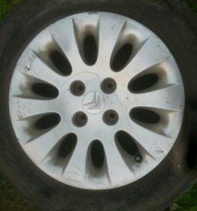 Литые диски Peugeot Citroen R15