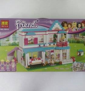 Конструктор BELA Friends 10612 Дом Стефани