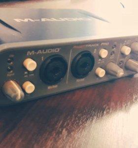 M-Audio Fast Track Pro (внешняя звуковая карта)