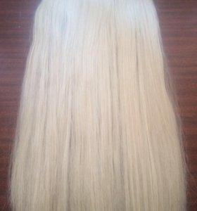 Искусственные волосы на заколках 60 см