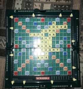 Настольная дорожная игра Scrabble