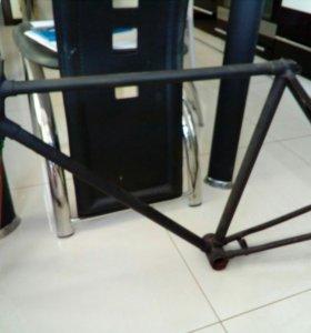 Рама от велосипеда орленок .