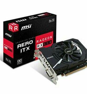 Видеокарта MSI RX 550 4GB