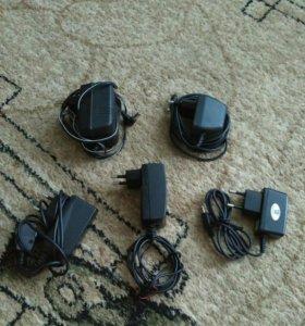 Сетевые зарядные устройства и гарнитуры