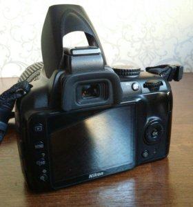 Цифровой фотоаппарат Nikon D3000 18-105VR Kit