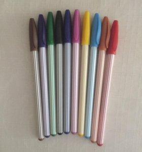 Новые цветные ручки
