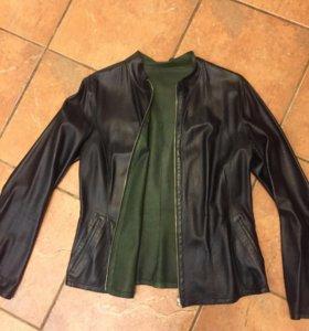 Куртка кожа нат