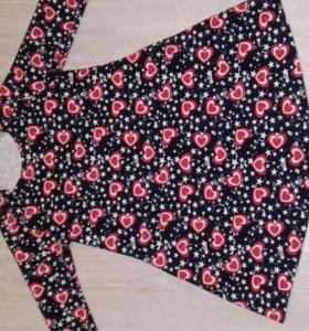 Платье свободное(подойдет и для беременной)