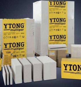 Пеноблоки Ytong