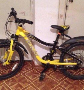 """Велосипед подростковый """"SPECIALIZED"""" + крылья"""