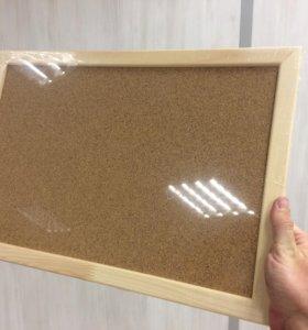 Доска пробковая Attache 30х45 см