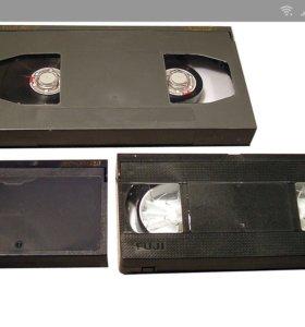 Перезапись VHS видиокасет