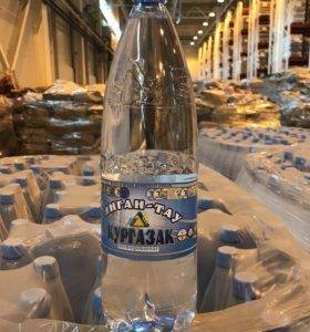 Питьевая Негазированная вода Кургазак 1,5 л, 180шт