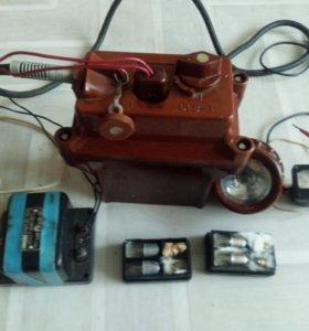 Аккумуляторный (шахтерский-железнодорожный) фонарь