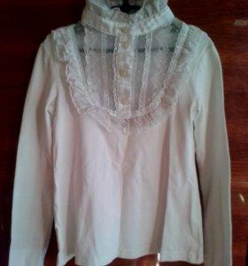 Блуза белая для школы