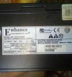 Блок питания Enhance на 450 W