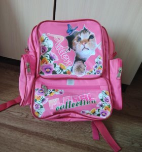Рюкзак в школу.