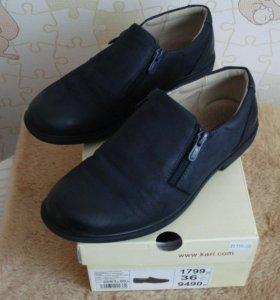 Туфли,кожа(раз.36 и 34)