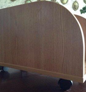 Подставка для системного блока на колесиках