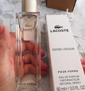 Духи женскиеLacoste Pour Femme, тестер, 90 ml