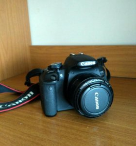 Фотоаппарат Canon 650D, 2 объектива