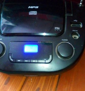 MP3 магнитофон Compact disc Digital Audio Hyundai