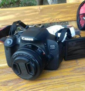 Canon 650D и аксесуары