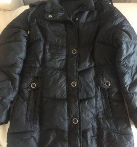 Куртка демисезонная, удлиненная