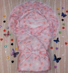 Конверт-одеяло 6 предметов