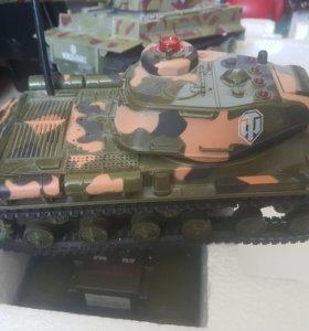 Танковый бой р/у World Of Tanks