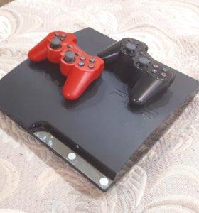 PS3 Slim 160 gb (Прошитая)