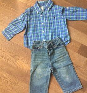 Комплект Ralph Lauren для мальчика в новом состоян