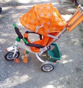 Коляска- велосипед