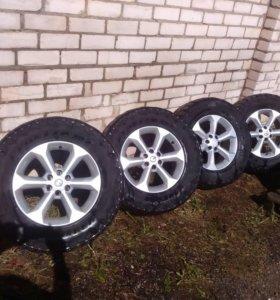 Комплект дисков R17, «Nissan Pathfinder, Navara»,