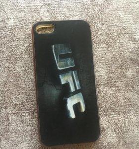 Чехол с рисунком на iPhone 5,5s