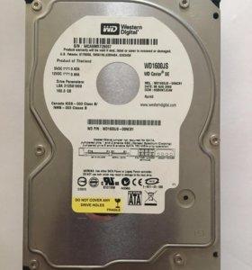 жёсткий диск Western Digital 160 Гб